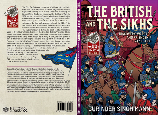 British and the Sikhs by Gurinder Singh Mann