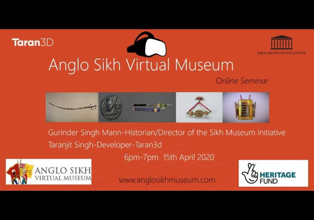 Anglo Sikh Museum Webinar