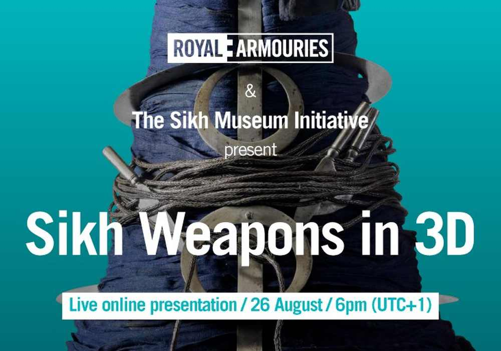 Royal Armouries-Sikh Weapons in 3d seminar