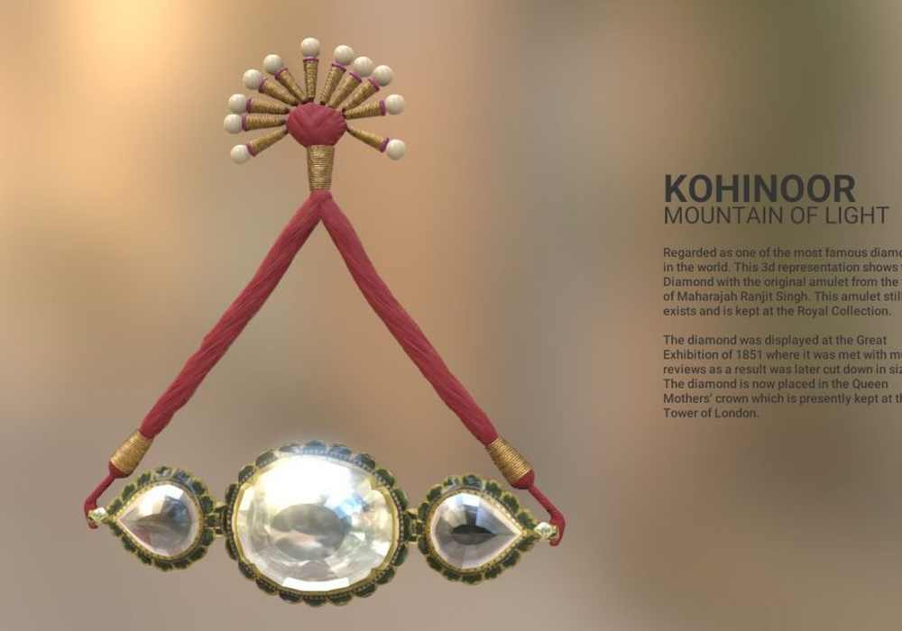 The Koh-i-Noor Diamond in 3d: Using technology to reclaim history