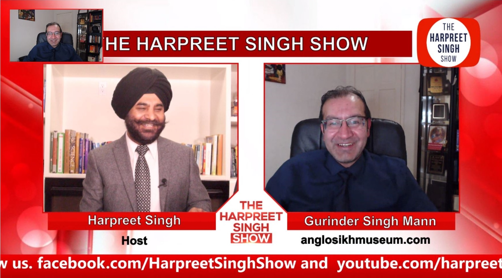 Gurinder Singh Mann interviewed on The Harpreet Singh Show