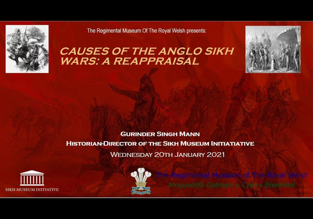 Anglo Sikh Wars Festival January 2021